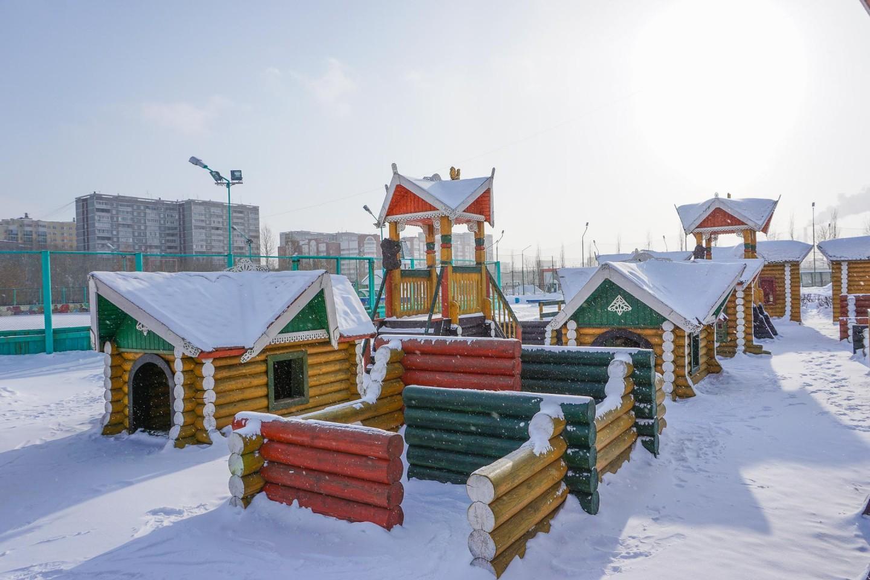 Детская площадка «Городки» — ParkSeason