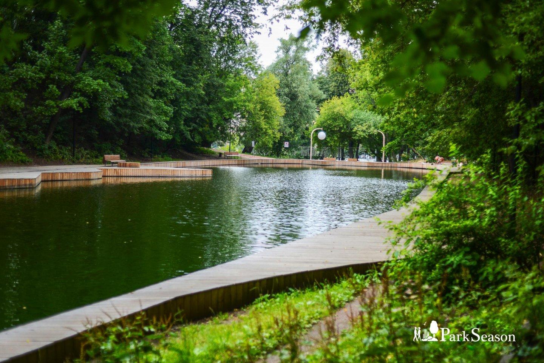 Андреевский пруд, Нескучный сад, Москва — ParkSeason