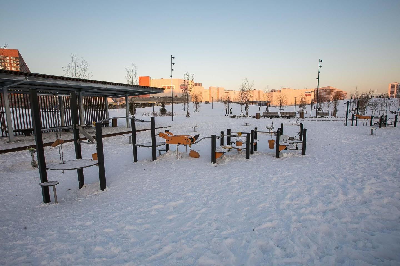 Детская площадка, Ходынское поле, Москва — ParkSeason