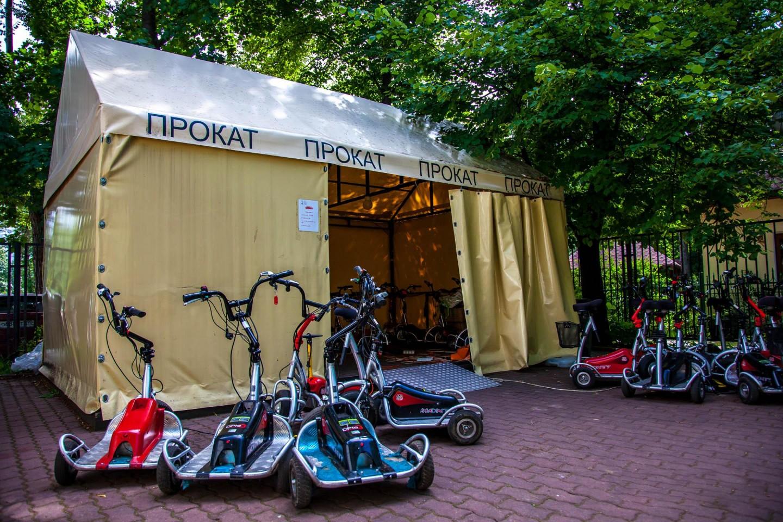 Пункт проката экотехники, Парк «Сокольники», Москва — ParkSeason