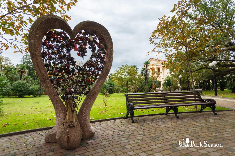 Скульптура «Сердце» — ParkSeason