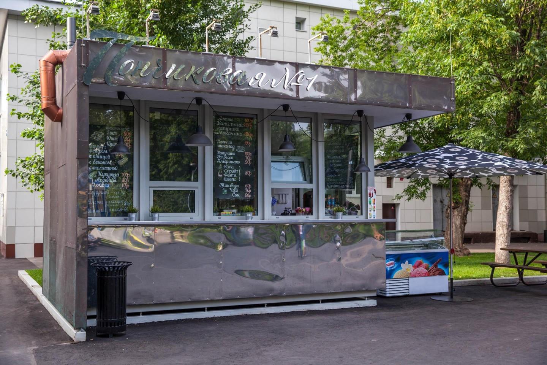Киоск «Пончиковая № 1», Парк «Таганский», Москва — ParkSeason