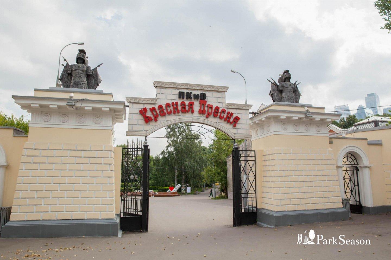 Главный вход, Парк «Красная Пресня», Москва — ParkSeason
