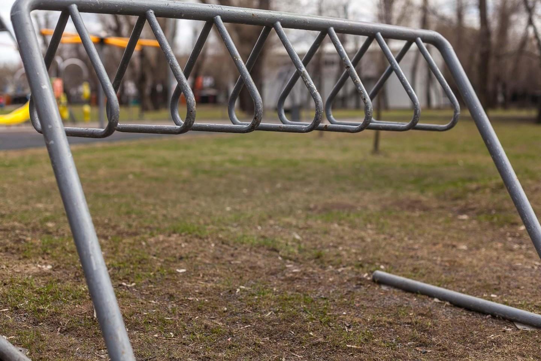 Велопарковка, Парк «Красная Пресня», Москва — ParkSeason