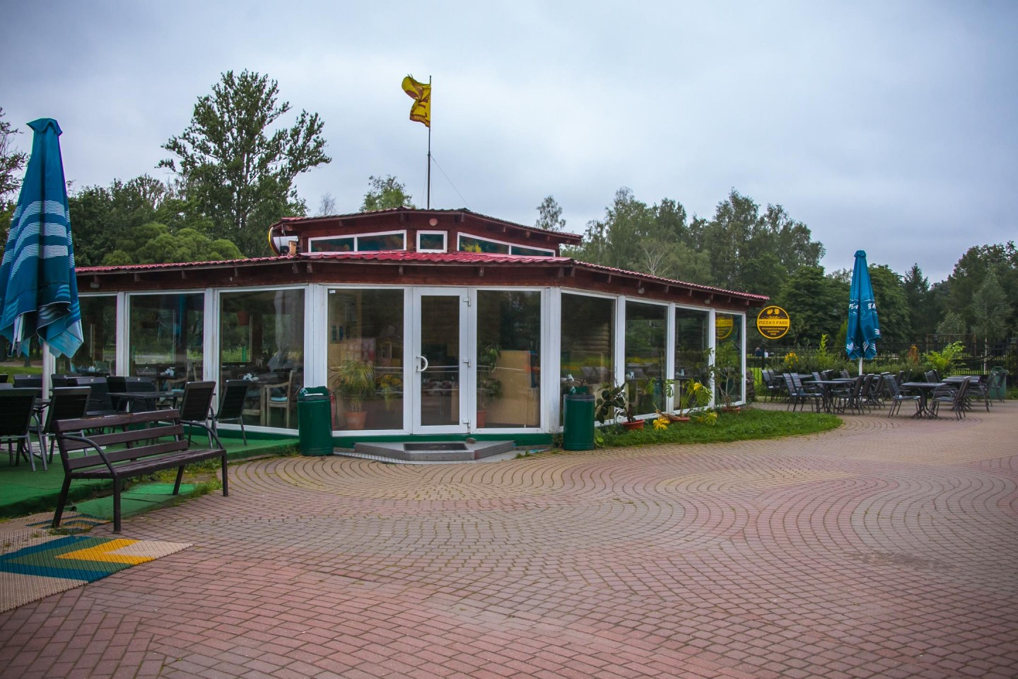 Кафе Pizza`s Park — ParkSeason