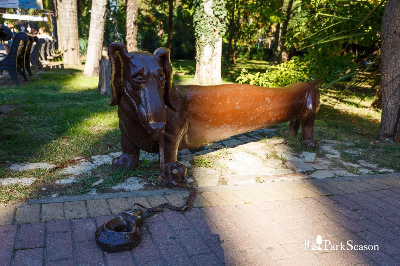 Скульптура таксы — ParkSeason