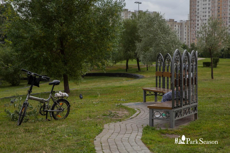 Кованая скамейка — ParkSeason