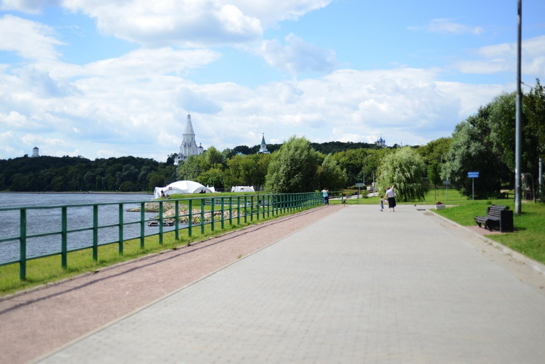 Набережная, Усадьба «Коломенское», Москва — ParkSeason