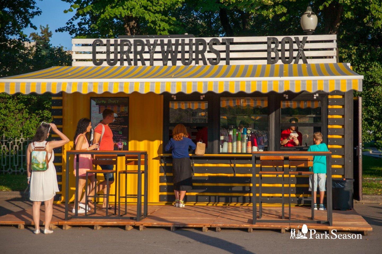 Кафе Currywurst Box, Парк Горького, Москва — ParkSeason