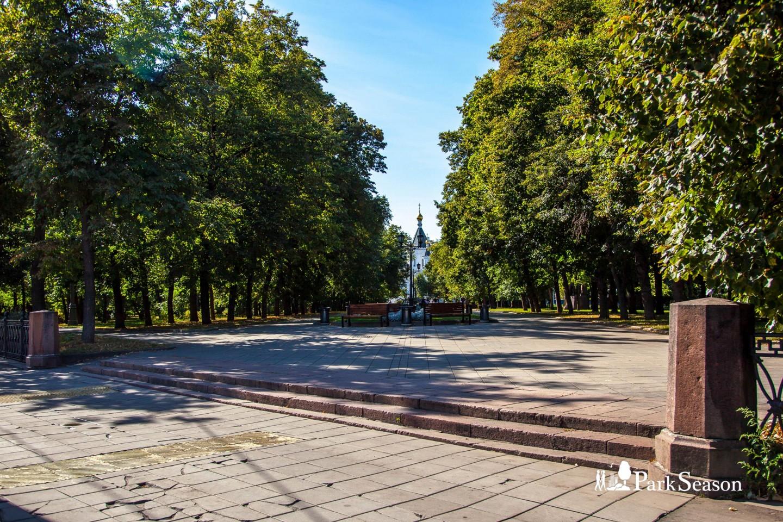 Входы в парк, Сквер Девичьего поля, Москва — ParkSeason