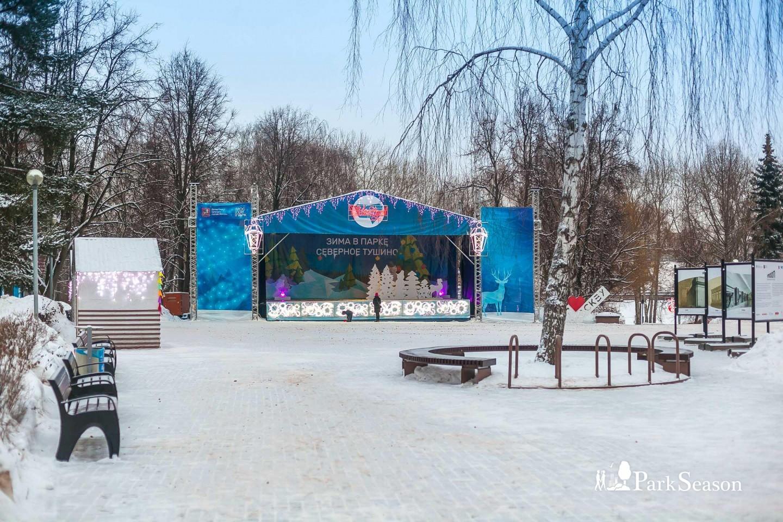 Сцена, Парк «Северное Тушино», Москва — ParkSeason
