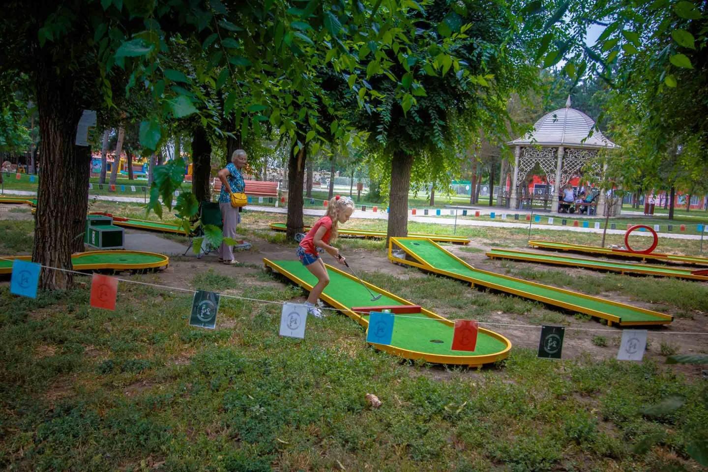 Минигольф «Golf in the Park» — ParkSeason