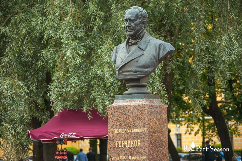 Бюст А. М. Горчакова — ParkSeason