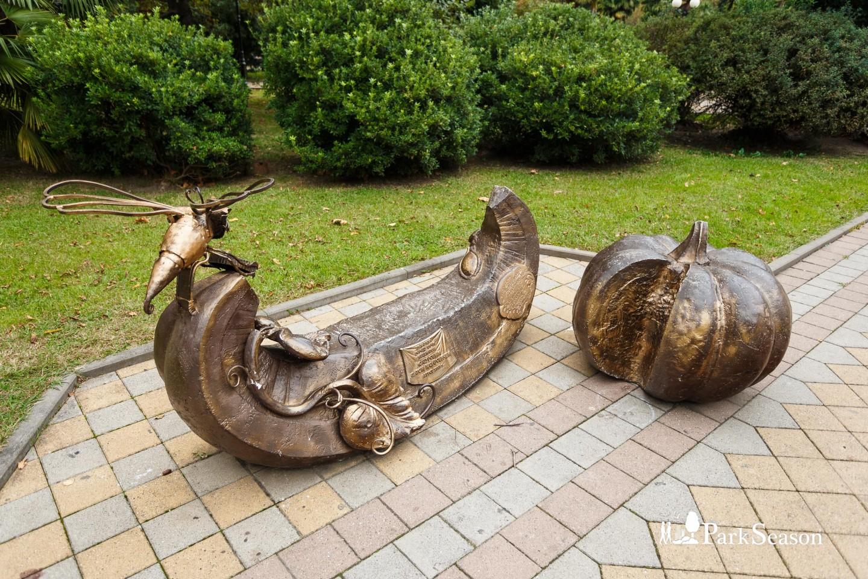 Памятник «Скамья Тыква» — ParkSeason