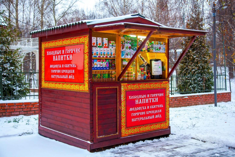 Киоск с медом, Лианозовский парк, Москва — ParkSeason