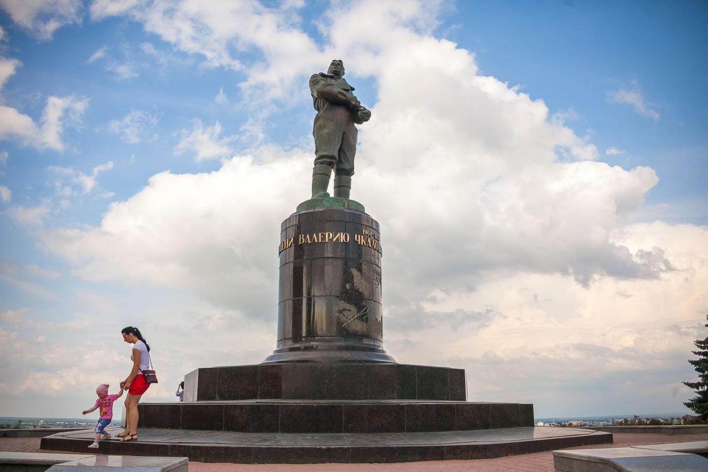 Памятник В.П. Чкалову — ParkSeason