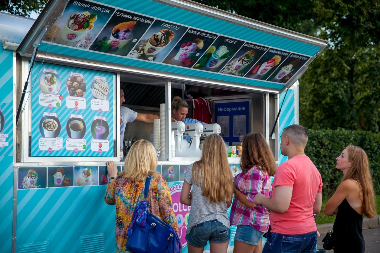 Мороженое Dolce Lab, Парк Горького, Москва — ParkSeason