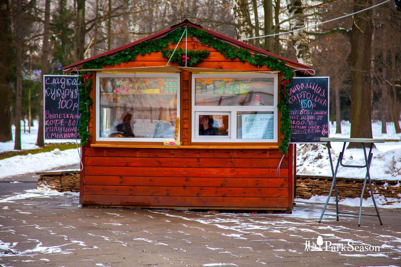Киоски с уличной едой, Парк имени Льва Толстого (Химки), Москва — ParkSeason