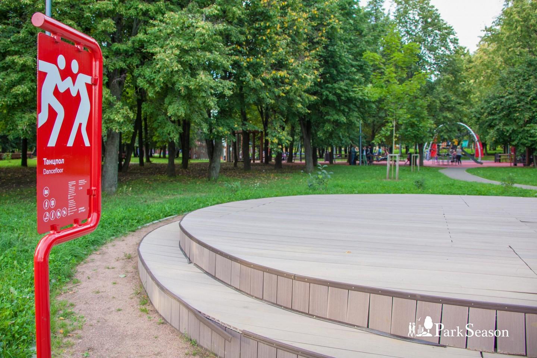 Танцпол, Парк Олимпийской деревни, Москва — ParkSeason