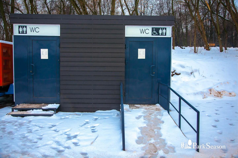 Туалеты, Парк «Северное Тушино», Москва — ParkSeason