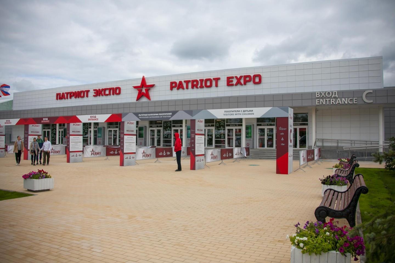 Конгрессно-выставочный центр. Вход C, Парк «Патриот», Москва — ParkSeason