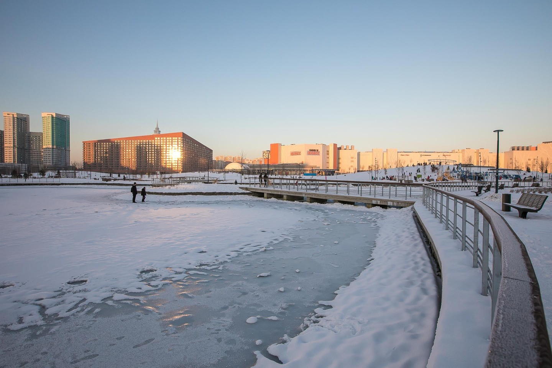 Пруд, Ходынское поле, Москва — ParkSeason