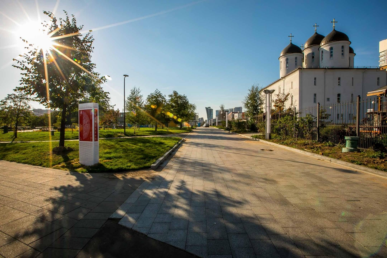 Вход в парк, Ходынское поле, Москва — ParkSeason