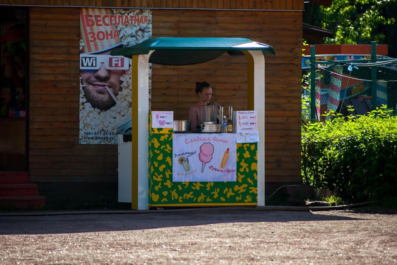 Палатка с уличной едой — ParkSeason
