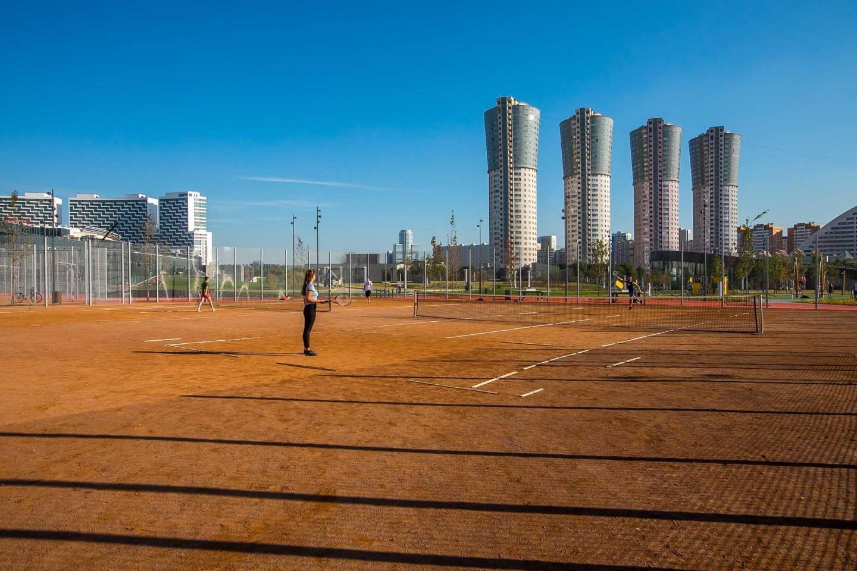 Теннисный корт, Ходынское поле, Москва — ParkSeason