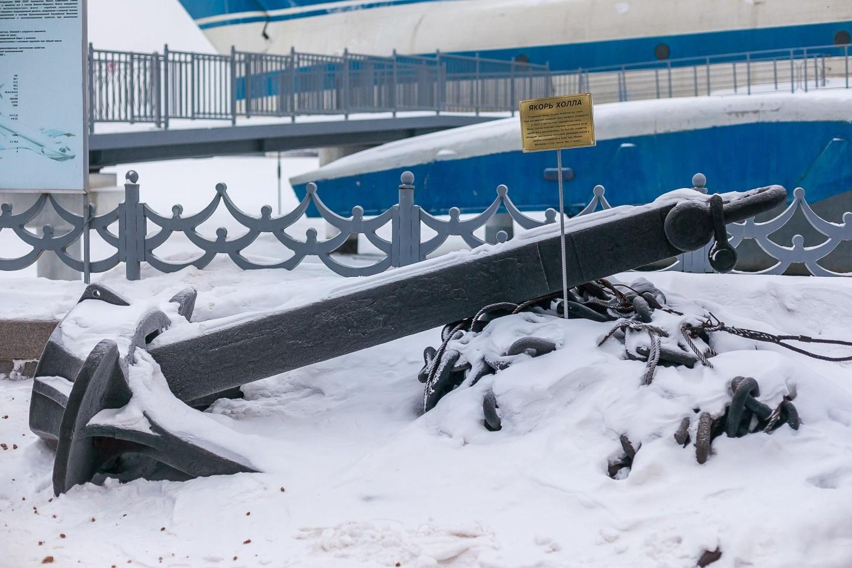 Якорь холла, Парк «Северное Тушино», Москва — ParkSeason