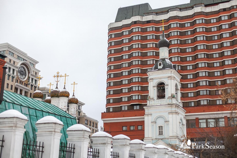 Церковь Николая Чудотворца в Голутвине, «Музеон», Москва — ParkSeason