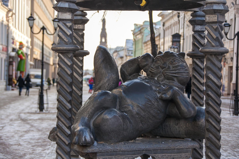Памятник Коту Казанскому — ParkSeason