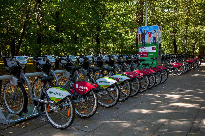 Городской прокат велосипедов, Сквер Девичьего поля, Москва — ParkSeason