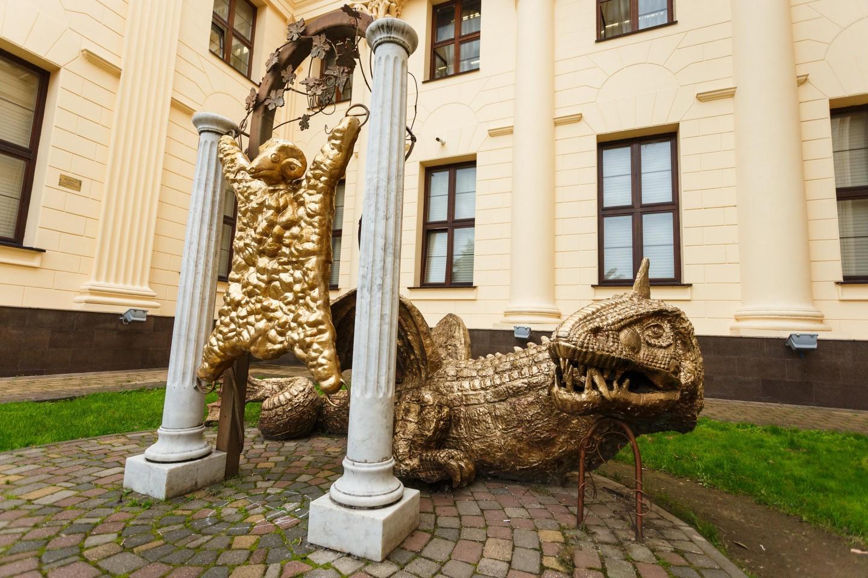 Скульптура «Золотое руно» — ParkSeason