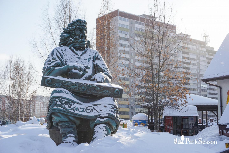Скульптура «Гусляр» — ParkSeason