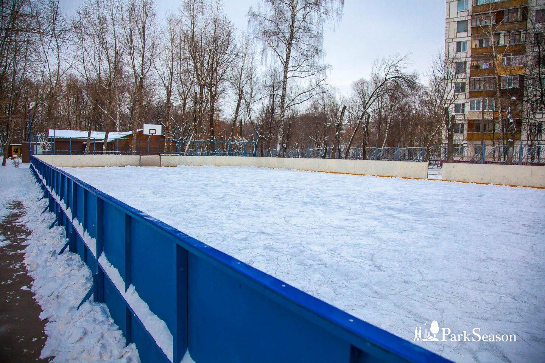 Малый каток в парке «Перовский», Парк «Перовский», Москва — ParkSeason