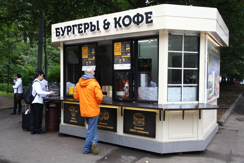 Кафе «Бургеры и кофе», Парк «Сокольники», Москва — ParkSeason