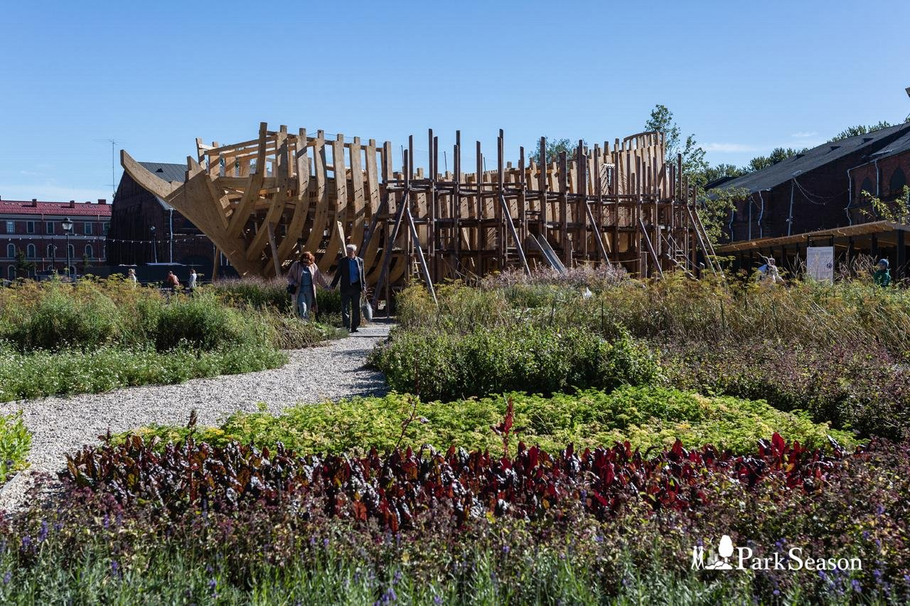 Детская площадка «Фрегат» (закрыта до мая 2019) — ParkSeason