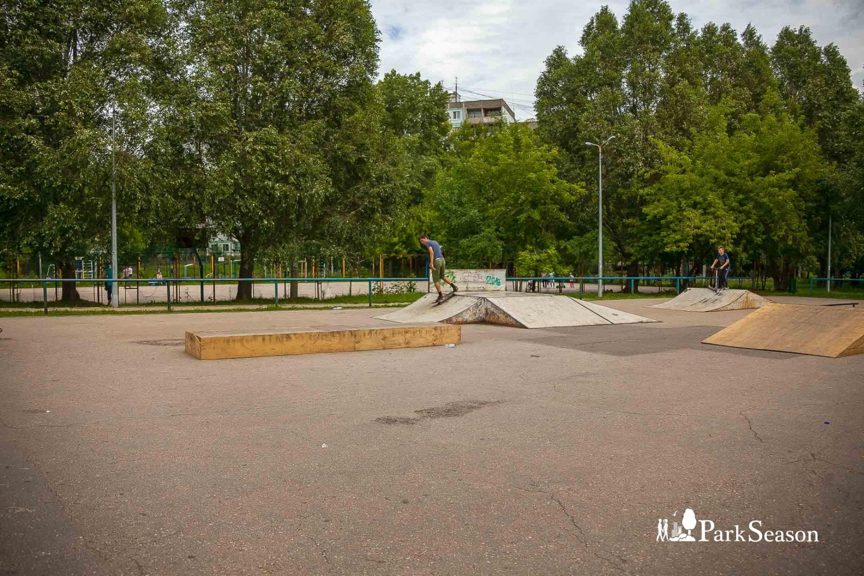Скейт парк — ParkSeason