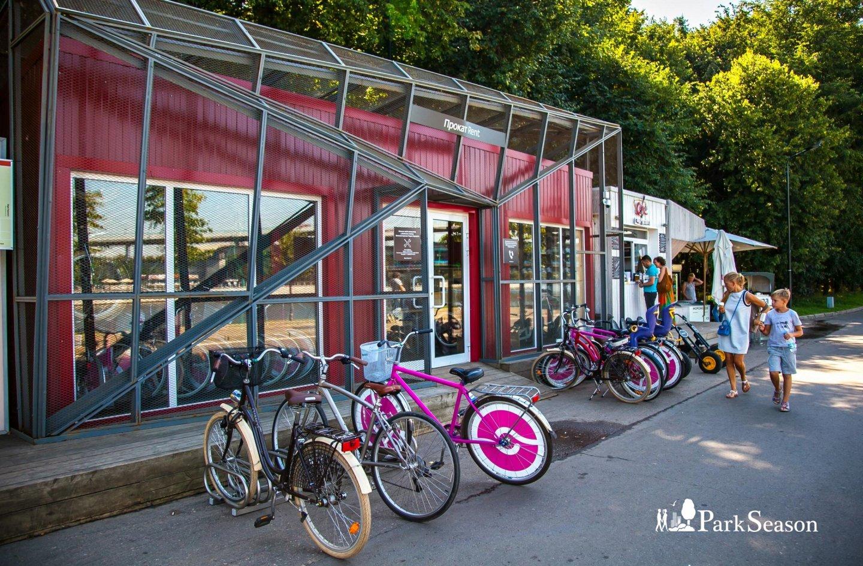 Пункт проката велосипедов, Воробьевы горы, Москва — ParkSeason