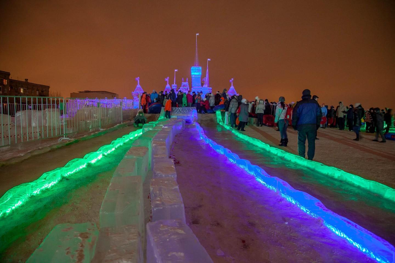 Горка, Парк Победы на Поклонной горе, Москва — ParkSeason