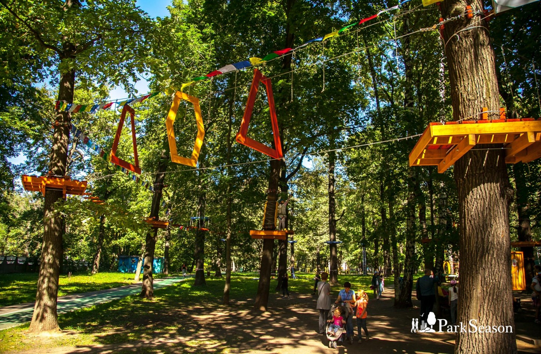 Веревочный парк «Школа супергероев», Парк имени Льва Толстого (Химки), Москва — ParkSeason