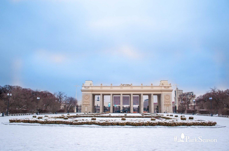 Главный вход, Парк Горького, Москва — ParkSeason