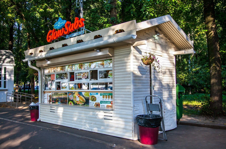 Кафе GlowSubs, Озелененная территория МГУ, Москва — ParkSeason