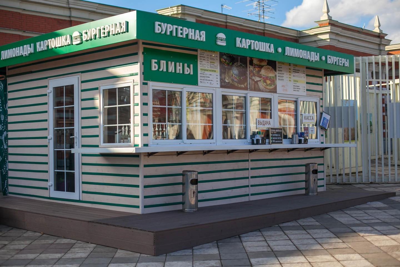 Киоск с уличной едой (лето) — ParkSeason