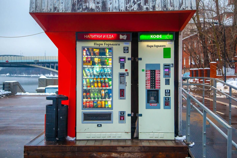 Автомат «Еда и Напитки», Воробьевы горы, Москва — ParkSeason