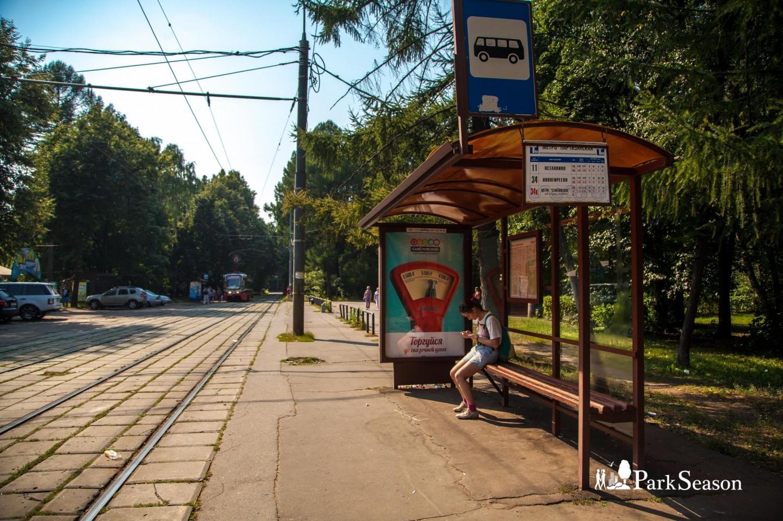 Остановка общественного транспорта, Парк «Измайловский», Москва — ParkSeason