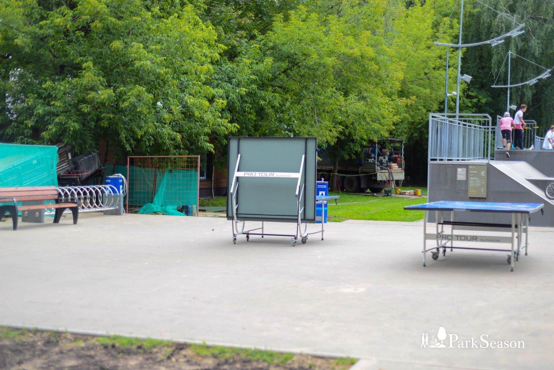 Настольный теннис, Парк «Кузьминки», Москва — ParkSeason