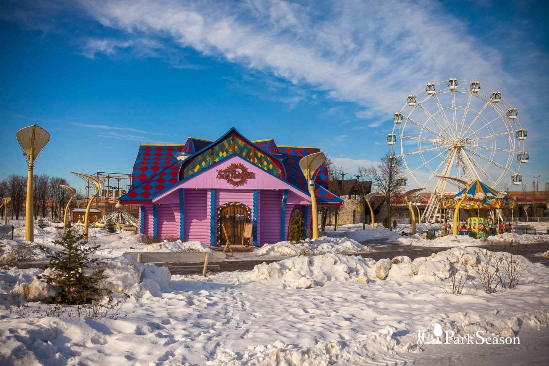 Изба Деда Мороза/Изба богатырская — ParkSeason