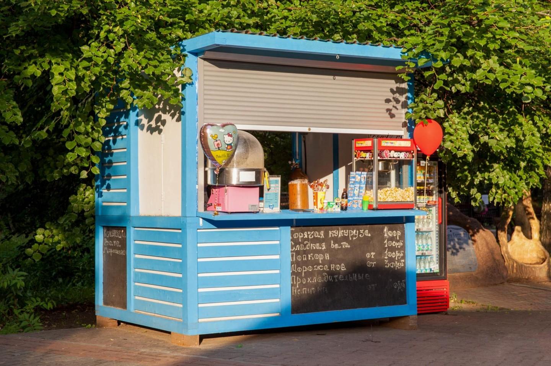 Киоск с уличной едой, Парк «Северное Тушино», Москва — ParkSeason